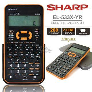 Sharp EL-533X-YR Calculator