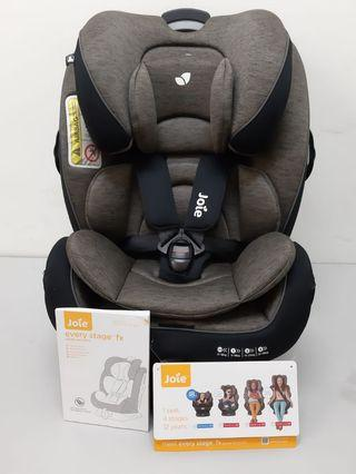 Joie Every Stages fx Isofix Car Seat (new born~12 yrs old)
