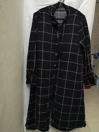 Plaid blouse / Check shirt for girl