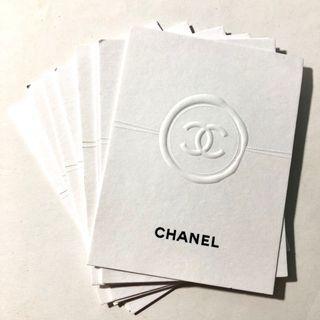 Chanel Fragrance Cards