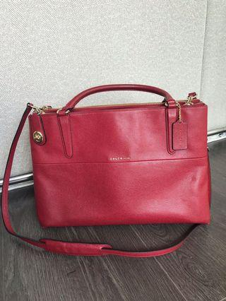 Authentic Coach runway bag
