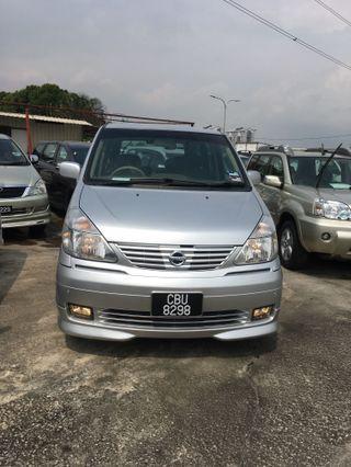 Nissan Serena 2.0 highway star