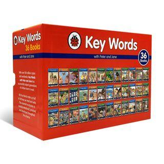 Keywords with Peter and Jane Collection Book Set (36 Books)  - Ladybird Key Words