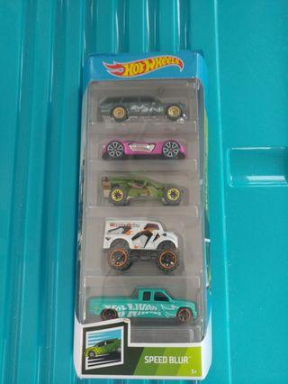 [暑假減價優惠]全新風火輪套裝 Hotwheels speed blur car sets (FYL13)