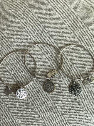 Authentic Alex and ani yoga bangles