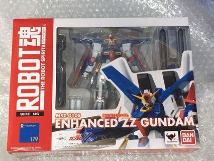全新 Robot魂 強化型 ZZ 高達 Gundam 模型