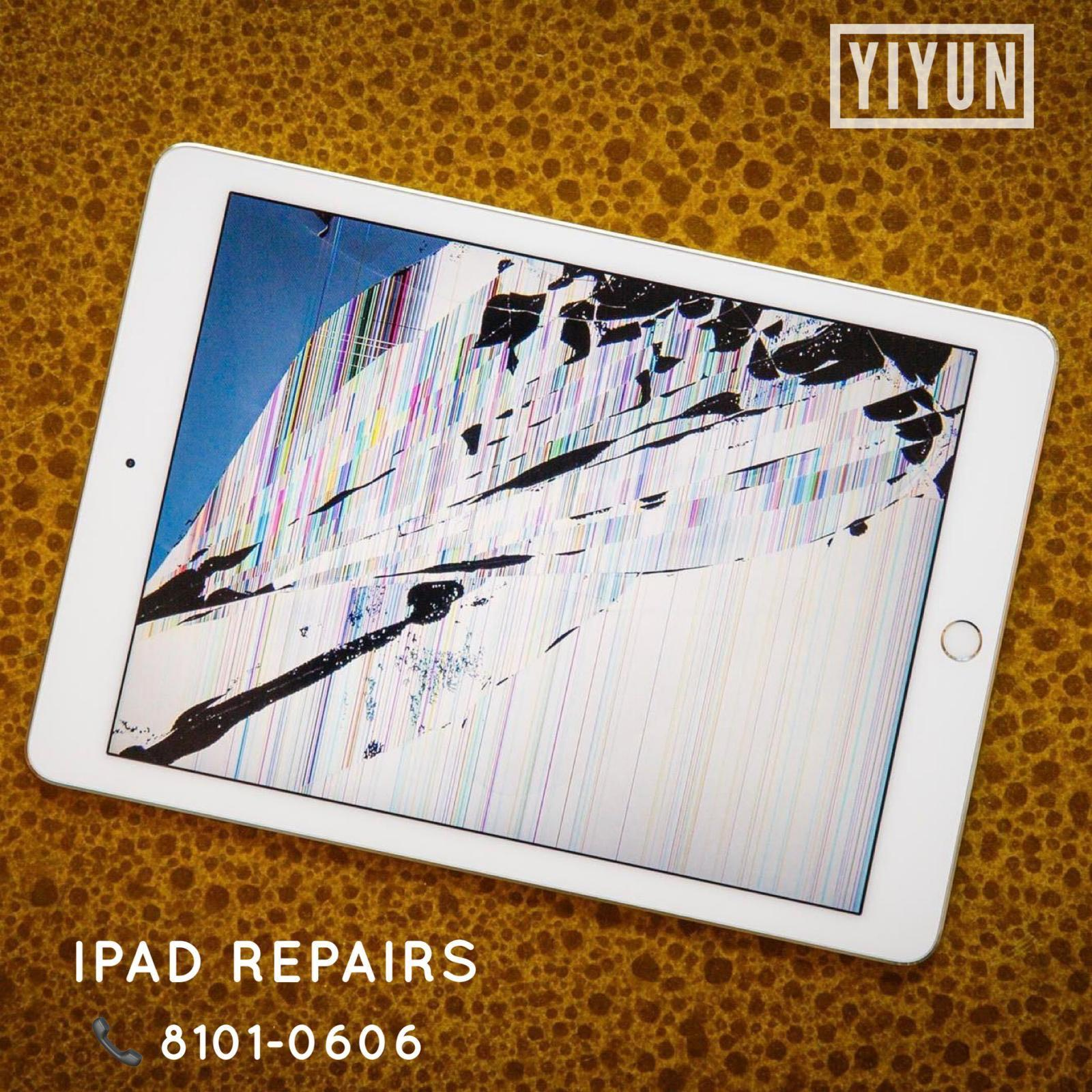 30min iPad Repair, iPad Crack Screen, iPad LCD, iPad Battery