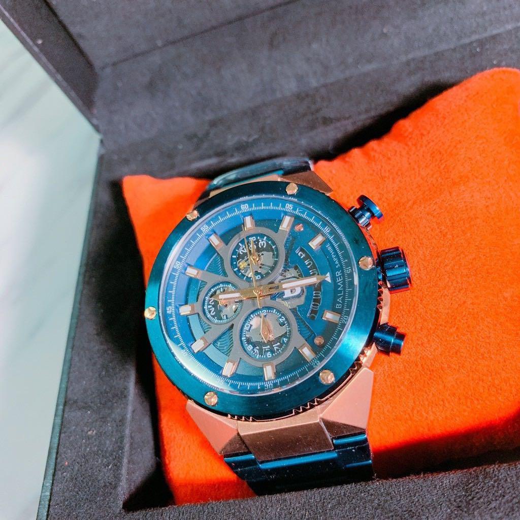 #賓馬王 #男錶 #三眼錶 #BALMER #賓馬 🛍️正品原廠出貨,照片為實拍圖! BALMER賓馬手錶 三眼錶 賓馬王系列⌚️ ⌚️一次下標兩隻7800元💰