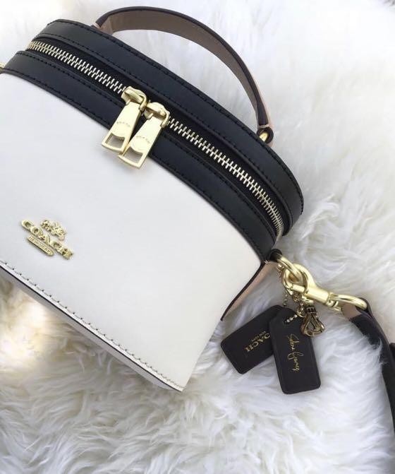 ( Preorder) Coach x Selena Trail Bag in Colorblock