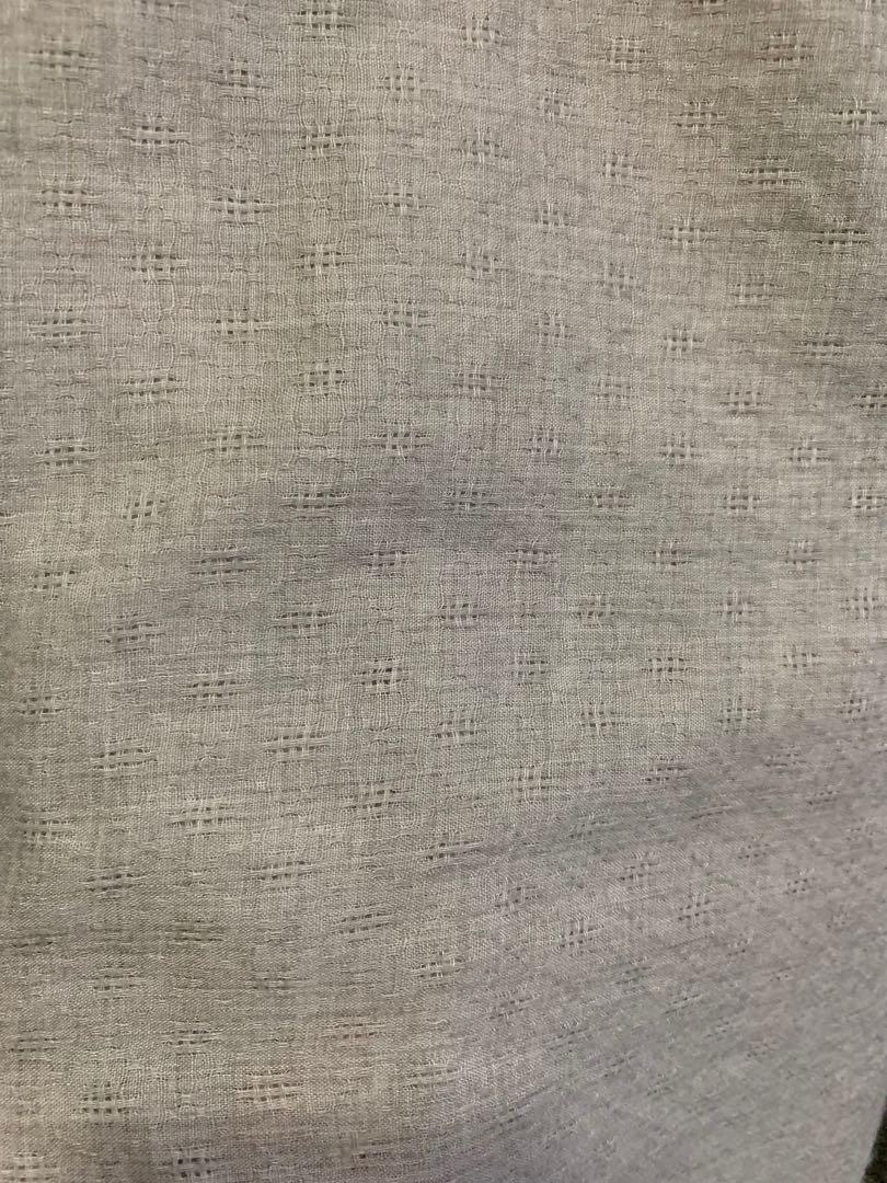 Alexa shawl square (silver grey)