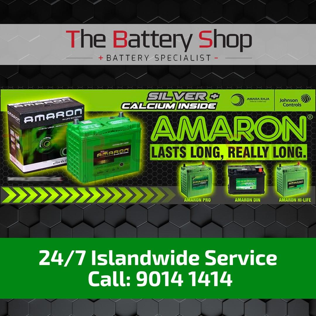 Amaron Car Battery -24Hrs Car Battery Replacement