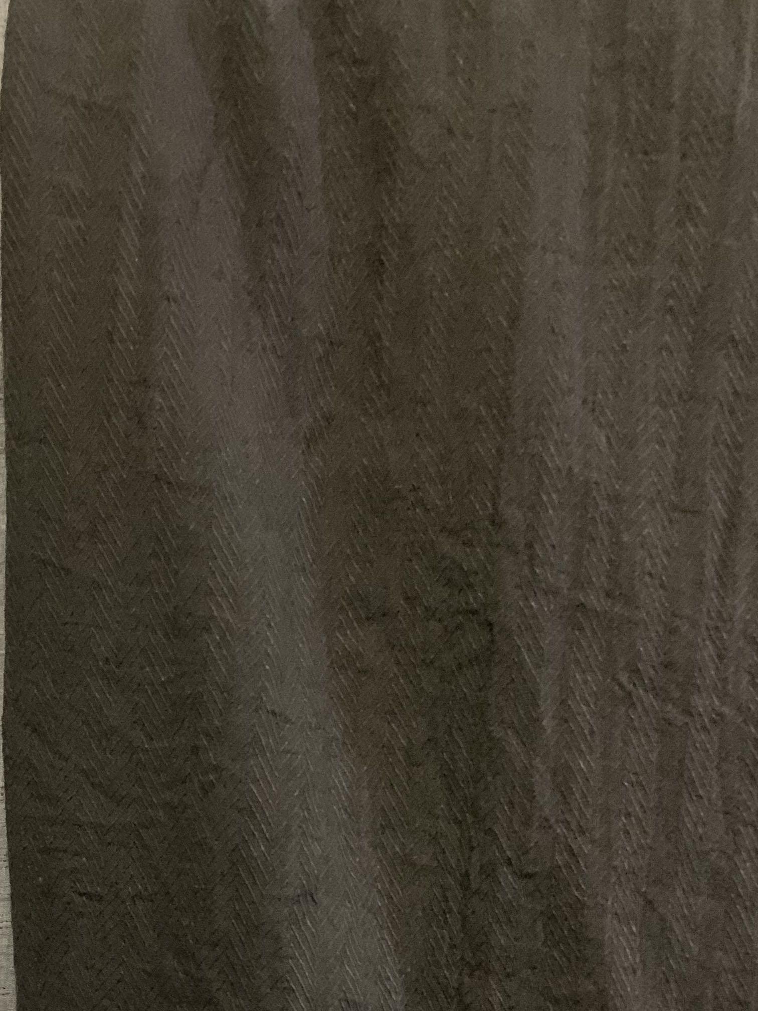 Azzura shawl (square) dark smoke grey