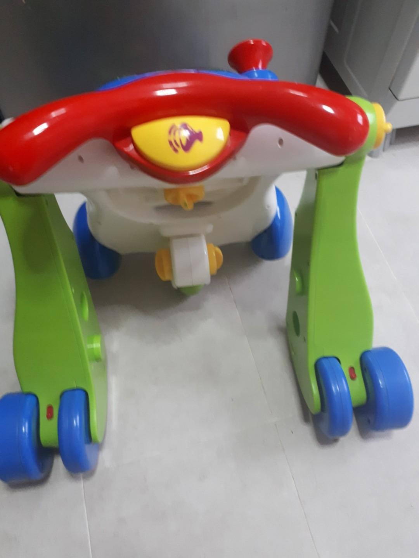 Baby walker very sturdy