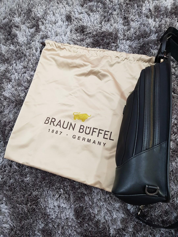 BB Zagora 60 Sling Bag Black (Kanan)