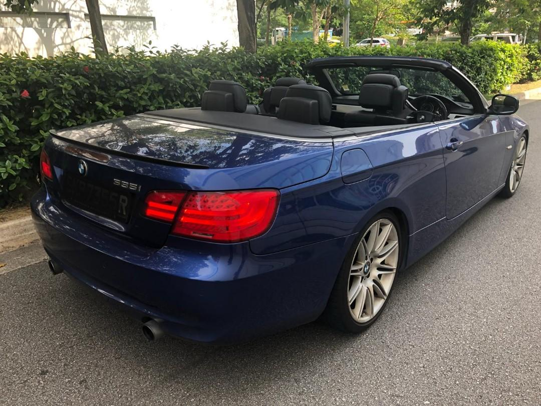 BMW 335i CONVERTIBLE TWIN TURBO POWERFUL LEASE TO OWN AVAILABLE