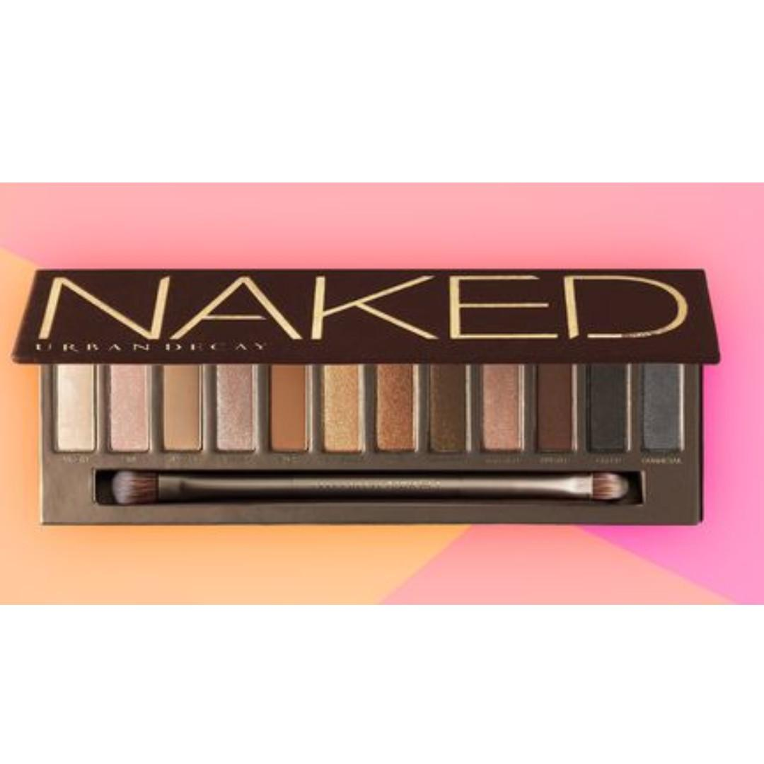 BRAND NEW AND RARE URBAN DECAY NAKED EYESHADOW PALETTE