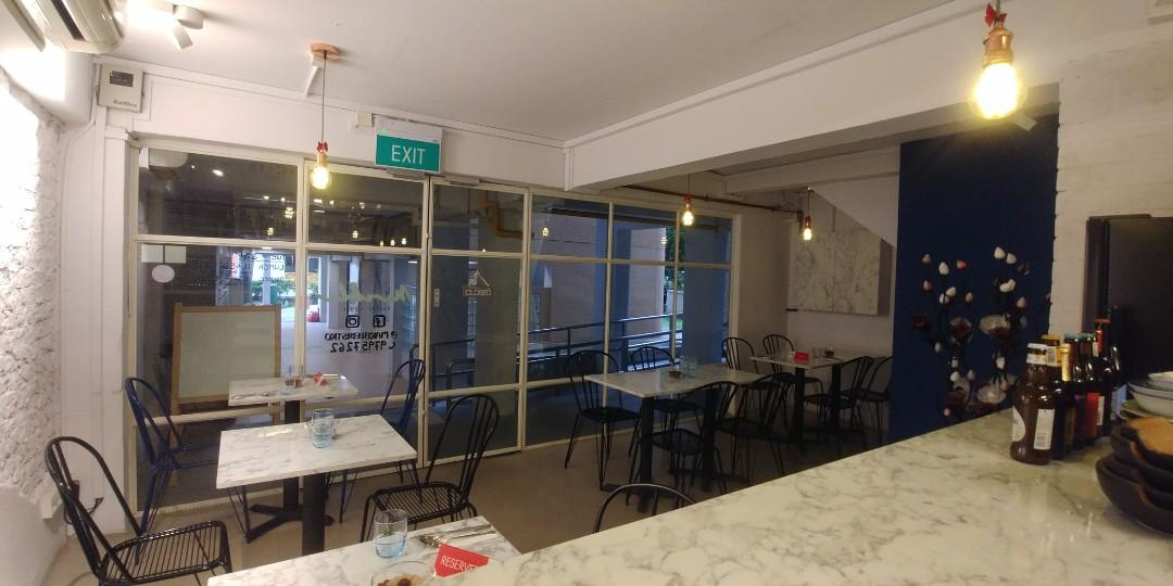 Fully equipped F&B Cafe/Bistro for Takeover @ Outram