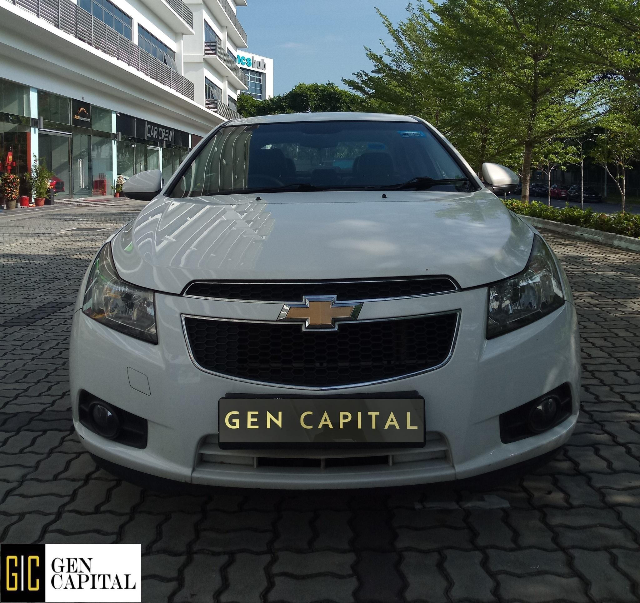 Chevrolet Cruze 1.6A Sedan Nice and Stable Car for Personal/PHV Usage