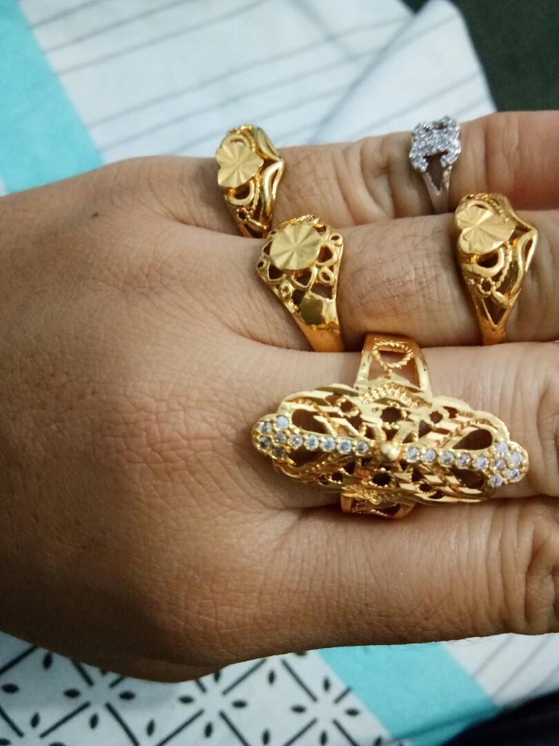 Cincin Xuping Lapis Emas Tahan lama smpai 6 bulan lebih