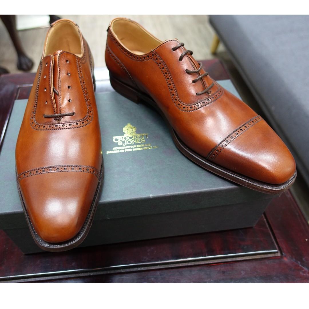 e6b6084f6f3ef9 Crockett & Jones Westbourne in Chestnut, Luxury, Shoes on Carousell