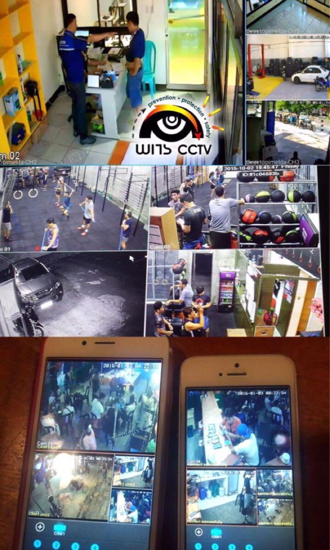FREE CCTV Installation packages complete with Mobile Viewing