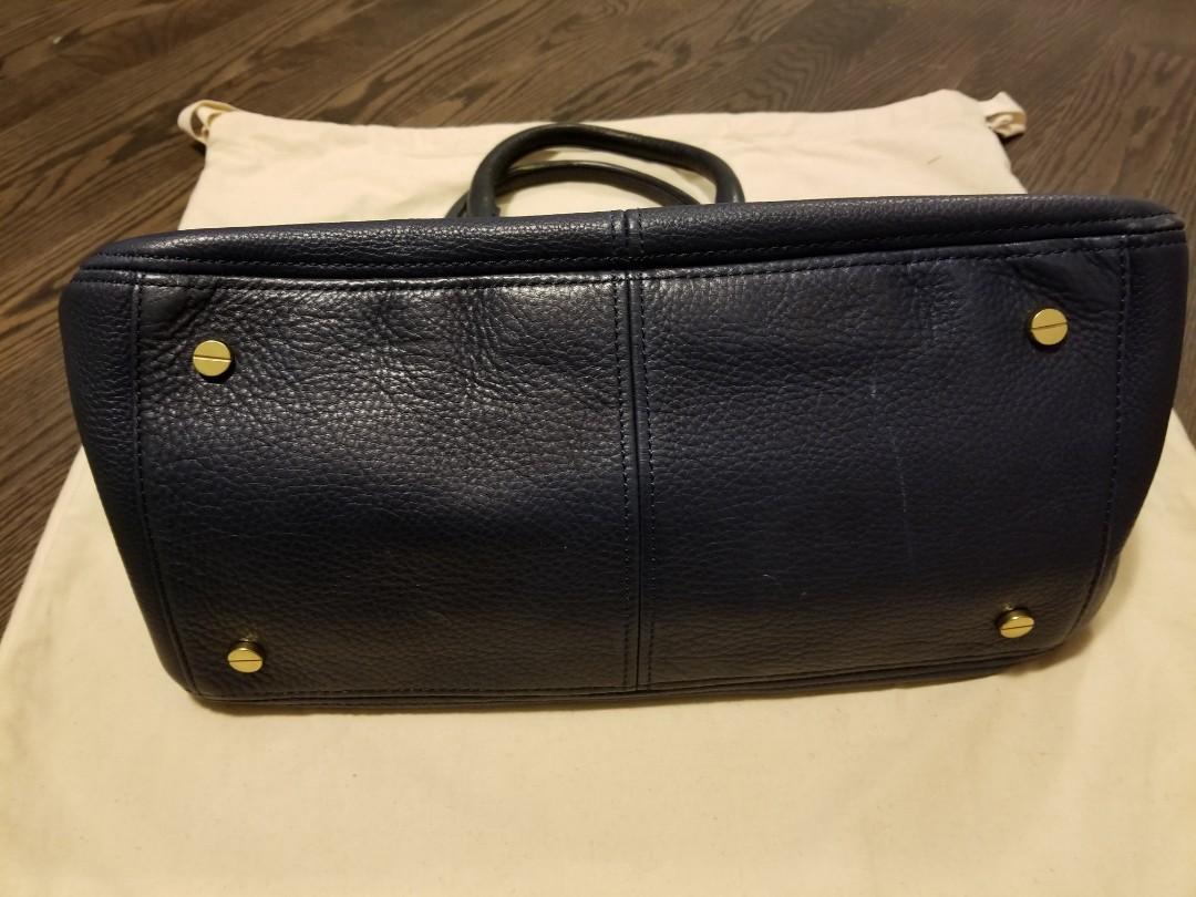 J CREW Genuine Leather Satchel