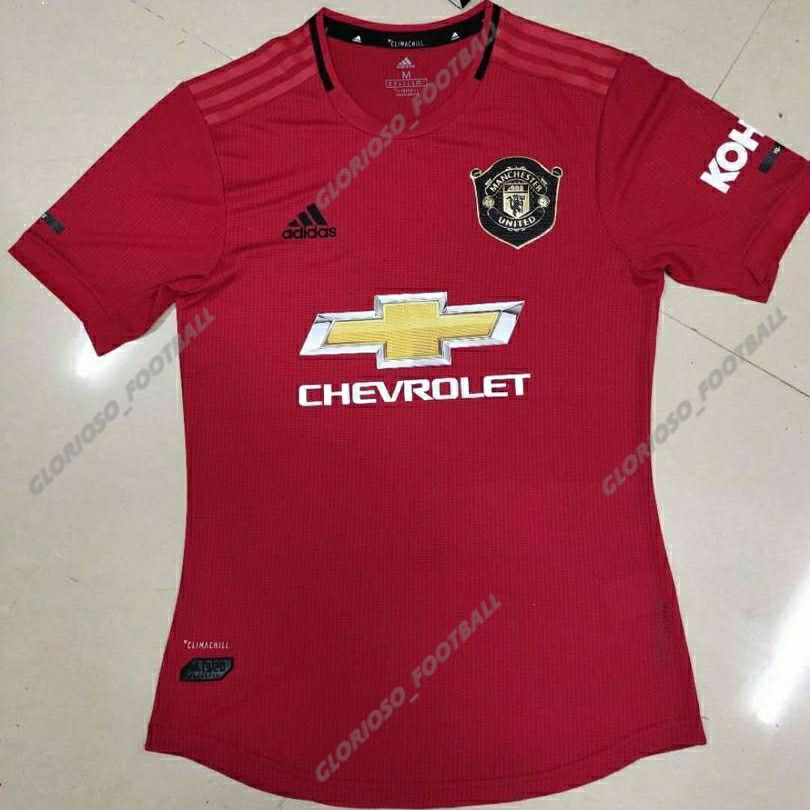 new concept a288f 31f62 JERSI MANCHESTER UNITED HOME KIT 19/20 PLAYER ISSUE