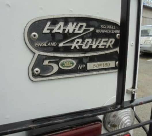 LAND ROVER DEFENDER 50週年紀念版 1998 價錢面議(另有bid車、水貨車、中港牌、租車服務、大量現貨  、古董車等)