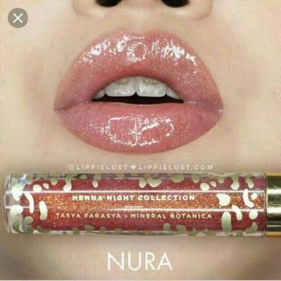 Lip Topper NURA Tasya Farasya