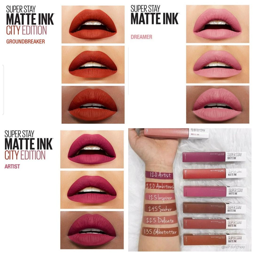 Maybelline Superstay Matte Ink On Carousell