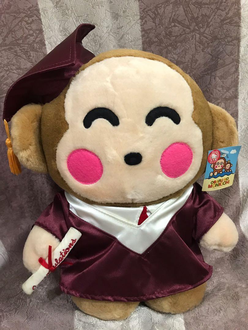 Monkichi 馬騮畢業袍