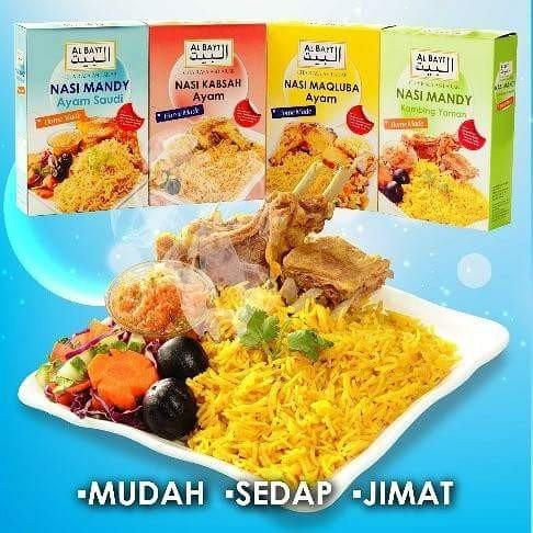 Nasi Arab Al Bayt Mandy Kabsah Maqlubah Food Drinks