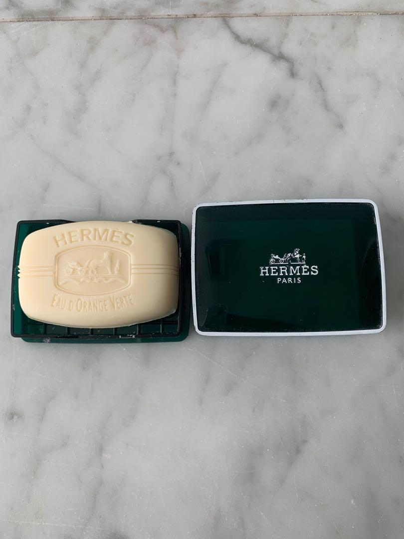 New Genuine Hermes soap
