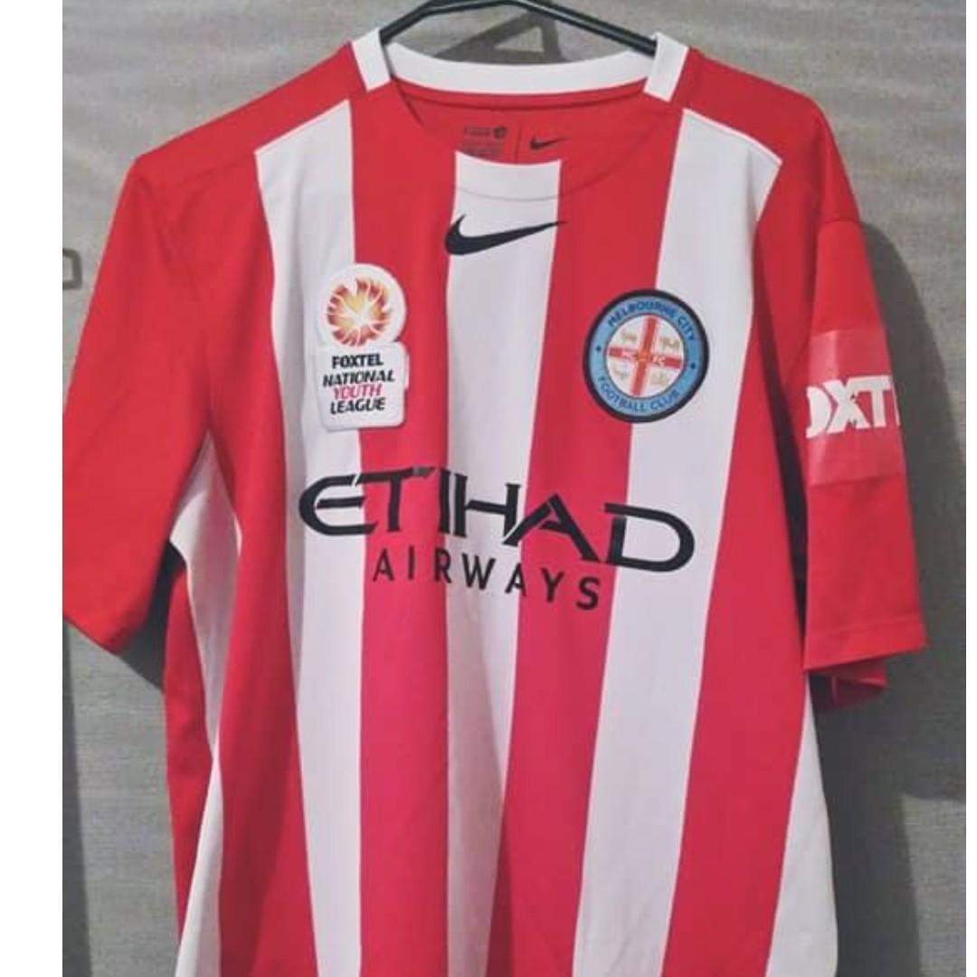 Nike Melbourne City FC Foxtel Youth League Jersey Large