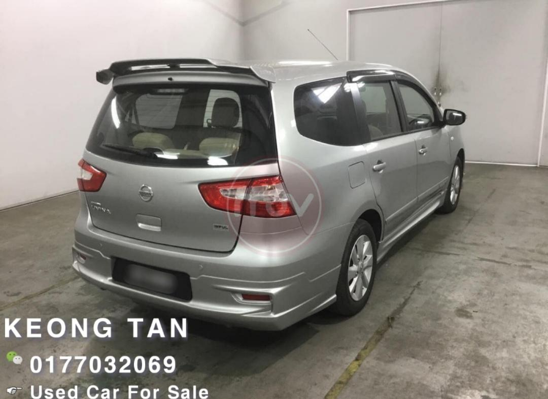 NISSAN LIVINA 1.6AT IMPUL FACELIFT 2016TH Low MILEAGE 9XXXXKM🎉Cash OfferPrice💰Rm55,800 Monthly Installment Rm676 Only!!💲