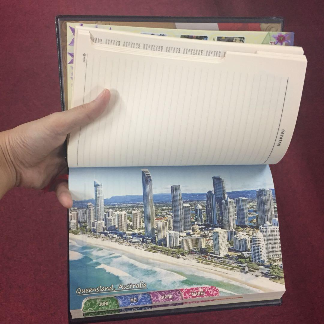 Note Book Agenda 2018