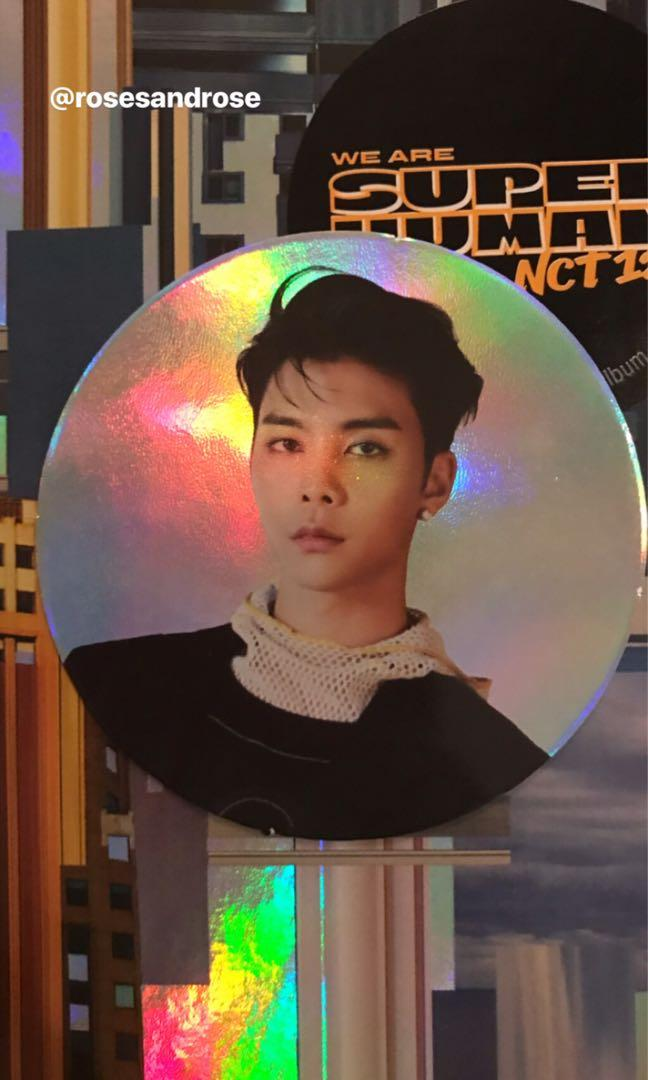 OFFICIAL NCT127 WE ARE SUPERHUMAN JOHNNY CIRCLE CARD