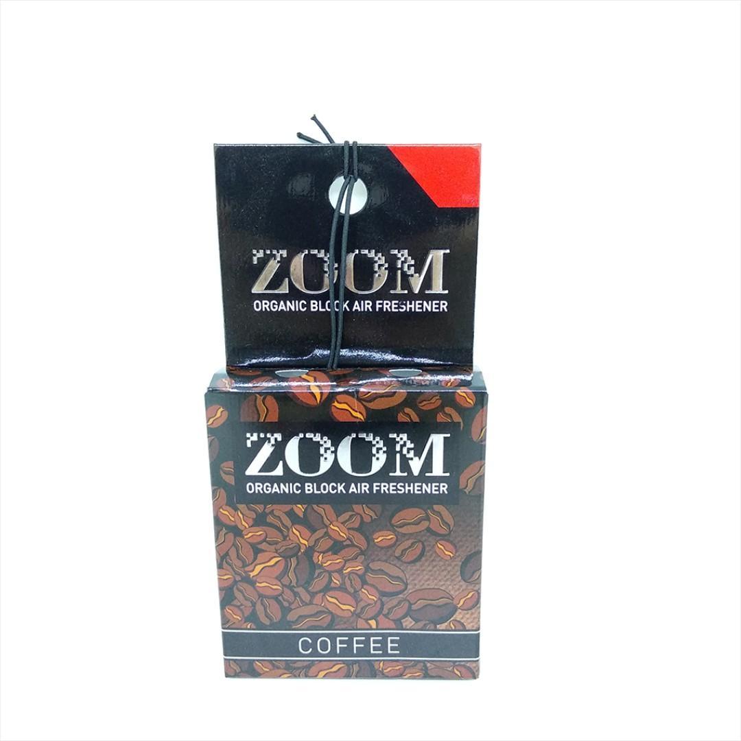 Parfum Mobil ZOOM Organic Block Air Freshener Aroma Coffee