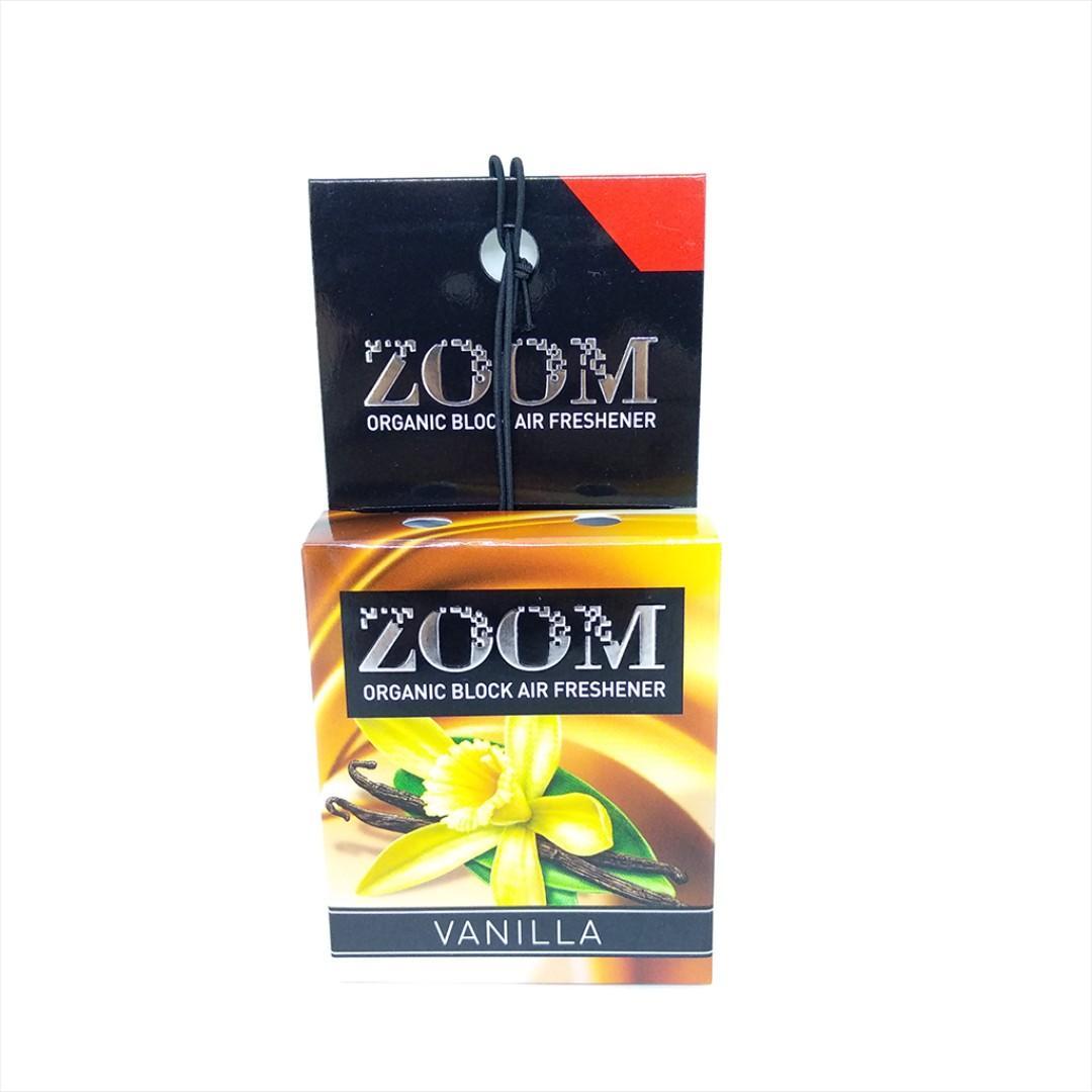 Parfum Mobil ZOOM Organic Block Air Freshener Aroma Vanilla