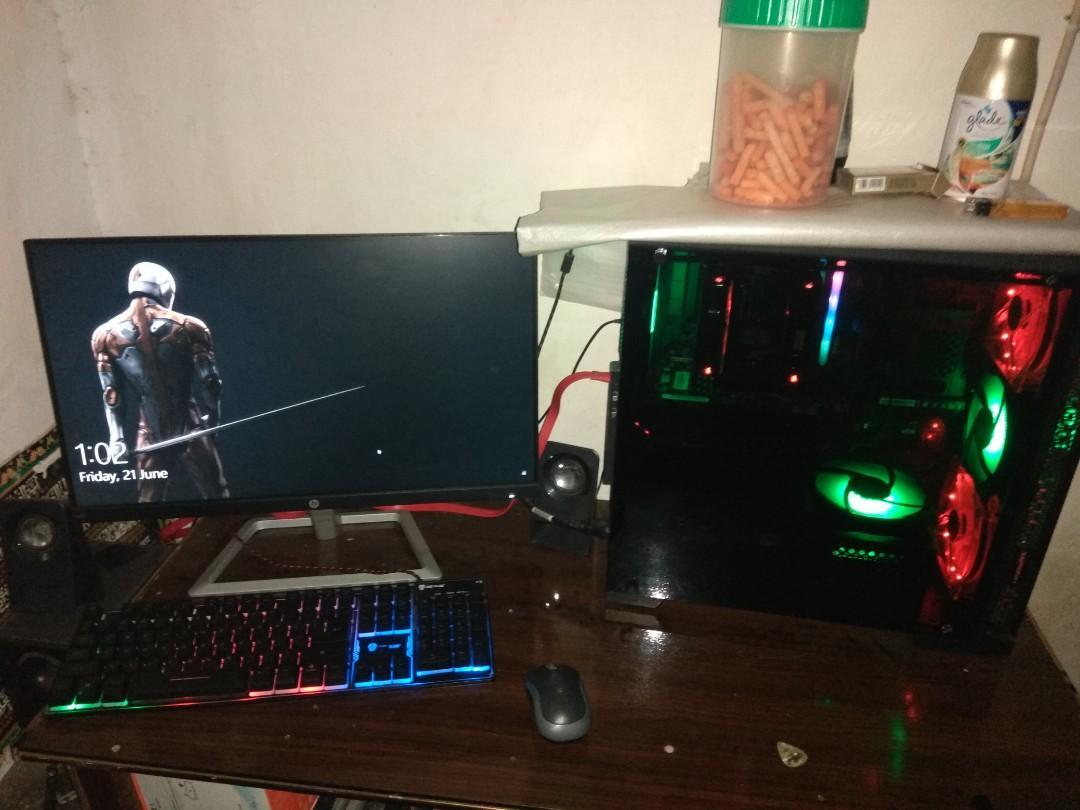 [NegoBU] PC gaming/render Fullset(pc+monitor+speaker+keyboard)