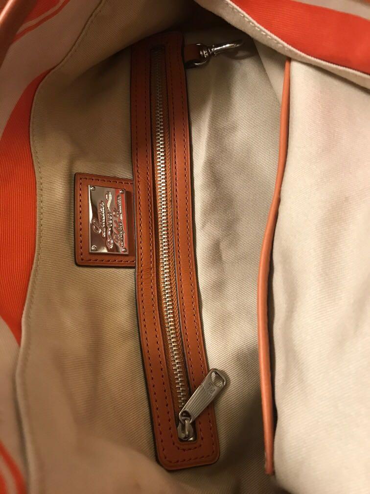 Polo Ralph Lauren Hand Bag 真皮包角 手袋 側孭袋
