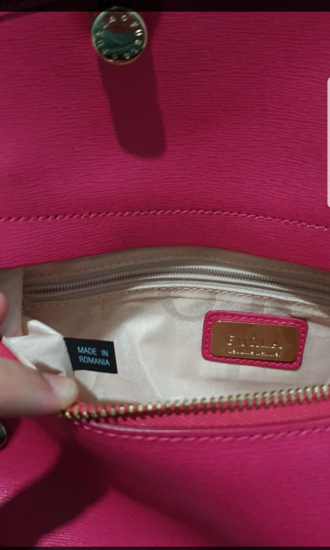 Preloved furla pink