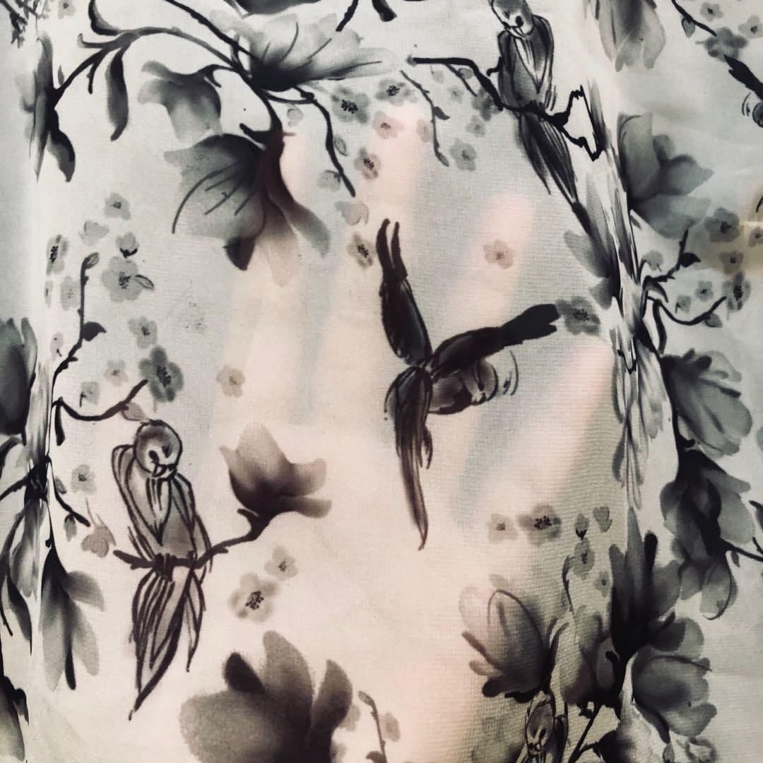 Preloved H&M sheer top