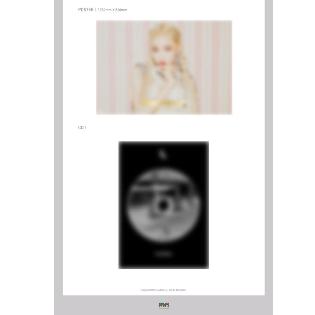 [PREORDER] 청하 (CHUNGHA) - FLOURISHING (4TH MINI ALBUM)