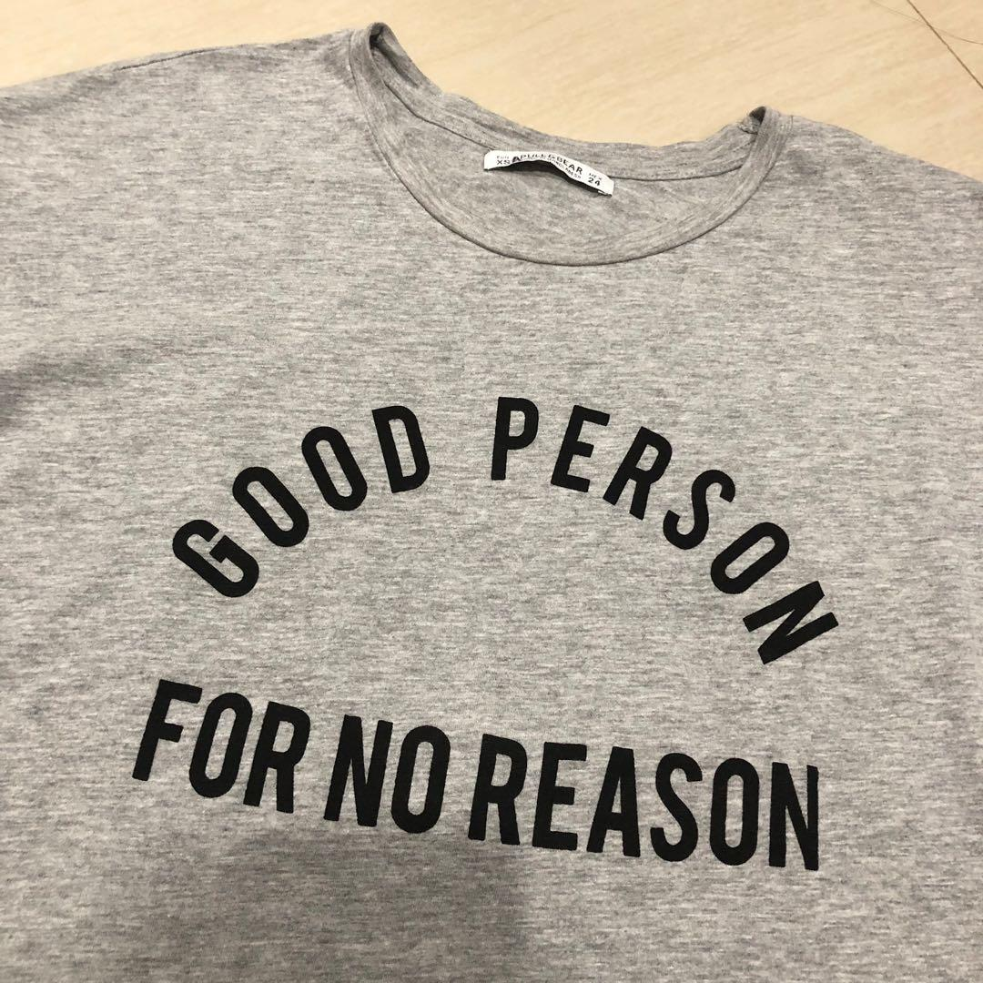 PULL&BEAR GOOD PERSON TOP