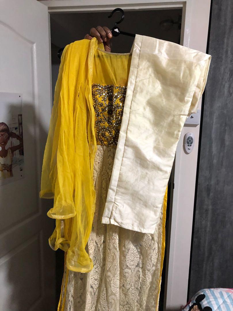 Punjabi suit designer piece