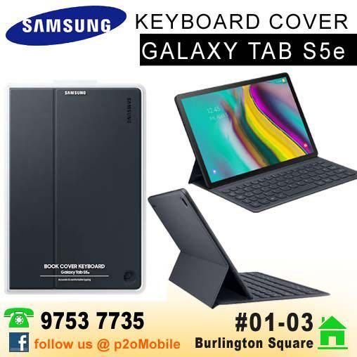Samsung Galaxy Tab S5e Keyboard Cover, Mobile Phones