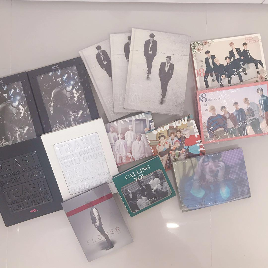 SELLING BEAST/HIGHLIGHT ALBUMS