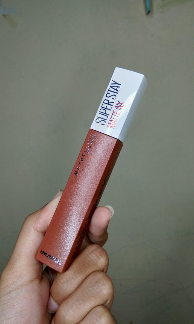SUPER STAY maybelline matte ink - FIGHTER (75) ORIGINAL!!
