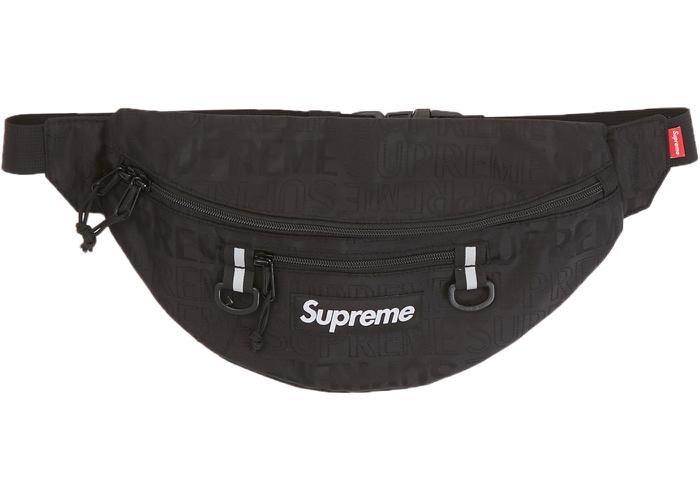 Supreme Waistbag 19SS Black